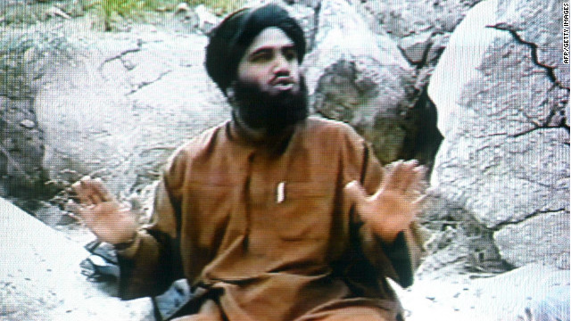 UNSPECIFIED:This frame grab from the Saudi-owned television network MBC (Middle East Broadcasting Center) shows Suleiman Abu Ghaith, the spokesman of alleged terror mastermind Osama bin Laden's al-Qaeda network, claiming responsibility for the September 11 suicide attacks in the United States in an undated videotape broadcast by the Dubai-based MBC 17 April 2002. Bin laden hailed the economic losses suffered by the US as a result of the attacks on Washington and New York in the same tape which was reportedly recorded in December. 'God ordered us to terrorize the infidels, and we terrorized the infidels,' Abu Ghaith said. AFP PHOTO/MBC (Photo credit should read AFP/Getty Images)
