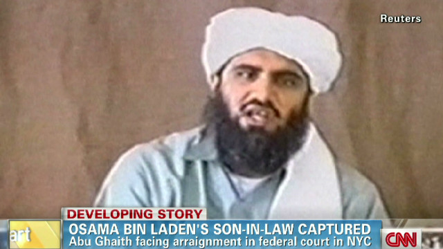 Osama bin Laden's son-in-law in court