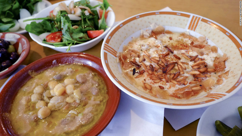 For more than 50 years, this pint-size kitchen in West Beirut has been serving an irresistible version of fatteh, made with layers of toasted pita, chickpeas, yogurt, and pine nuts. 961-1/312-145. $