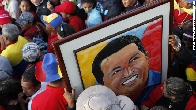 Venezuela says farewell to Hugo Chavez