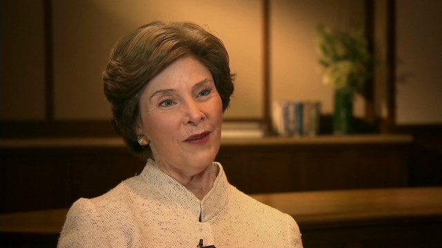 Laura Bush: GOP has 'room for all'