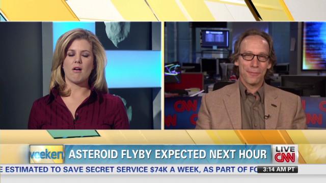 Earlier: Big asteroid buzzing by earth