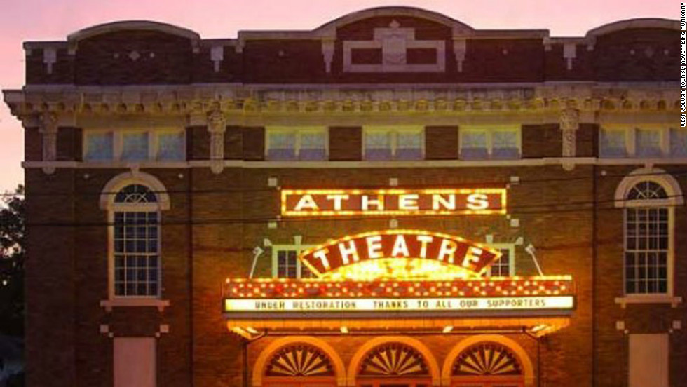 "Conceived in the 1870s as an ""Athens of Florida,"" downtown DeLand's attractions include the restored 1921 Art Deco Athens Theater, nearby Artisan Alley and a revived Garden District."