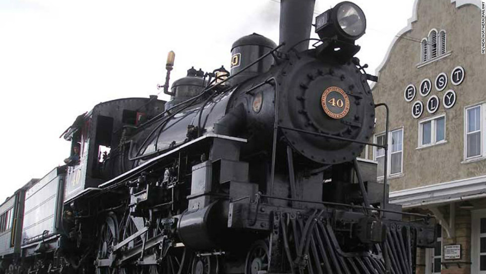 Originally a Pony Express station, then a copper mining town, Ely is now home to Wild West experiences, such as the steam-powered Northern Nevada Railway.