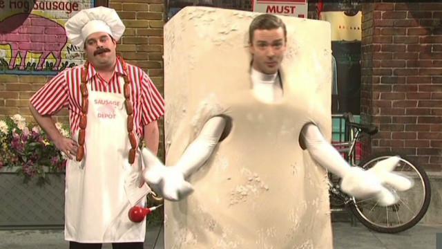 Justin Timberlake's bringing tofu back