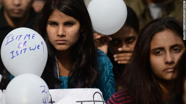 Indians protest the gang rape and murder of an Indian student, which forced the nation to confront its attitudes toward women.