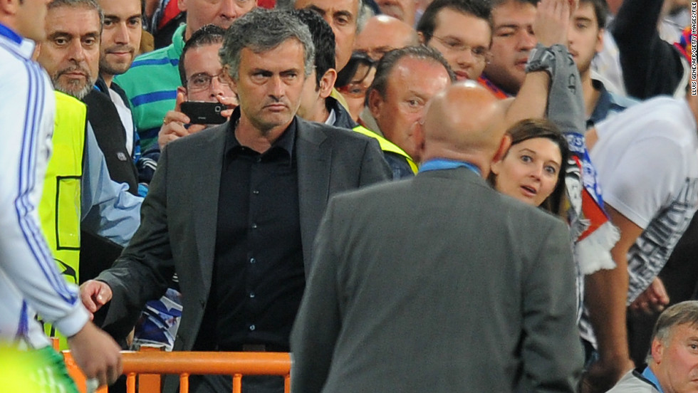 "Real Madrid coach Jose Mourinho named Ovrebo and a number of his colleagues in a list of referees he considered to be sympathetic towards Barcelona. ""I can't say what I feel. I only leave one question. Why?"" said Mourinho after a 2011 Champions League semifinal loss to Barca. ""Why? Ovrebo, (Massimo) Busacca, (Anders) Frisk, (Wolfgang) Stark, (Frank) De Bleeckere. <br /><br />""Why to all these people. Each semifinal always brings the same. We're talking about a fantastic football team. So why?"