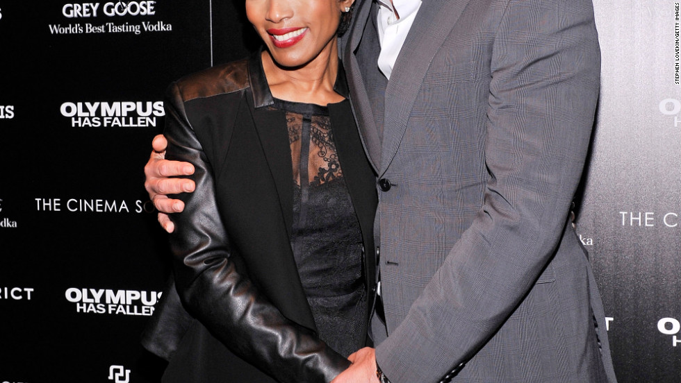 Angela Bassett and Gerard Butler attend an event in New York City.
