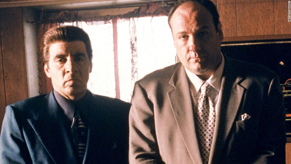 """Steven Van Zandt portrayed Silvio, consigliere of Tony Soprano (James Gandolfini), on HBO's """"The Sopranos."""" The Bada Bing strip club owner was known for always keeping his cool."""