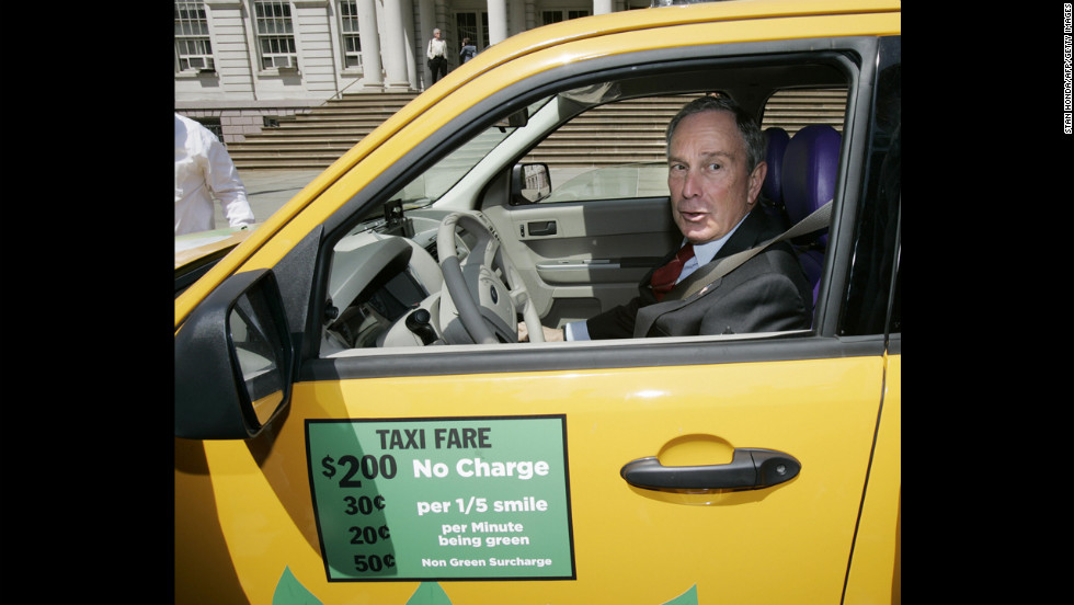 Michael Bloomberg worked as a parking lot attendant while studying at Johns Hopkins University. Today he's New York mayor and a billionaire businessman.