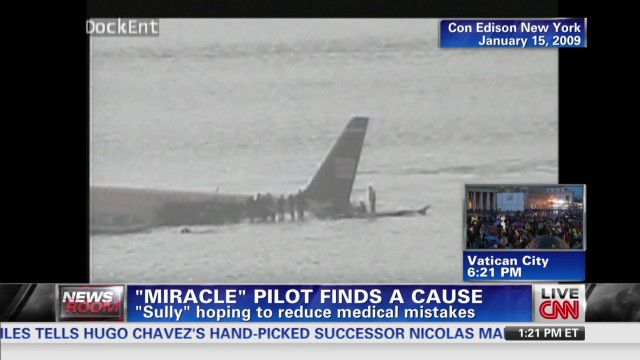 """Miracle"" pilot finds a cause"