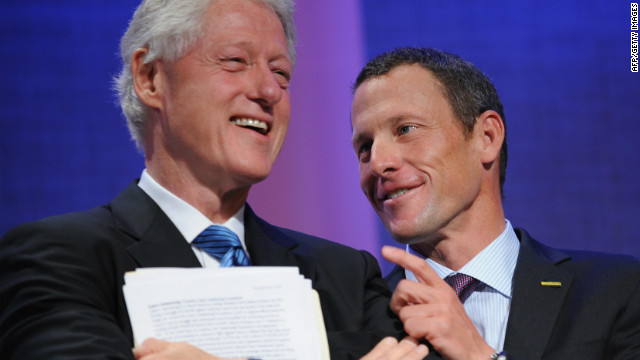 Armstrong: Like Bill, people forgive