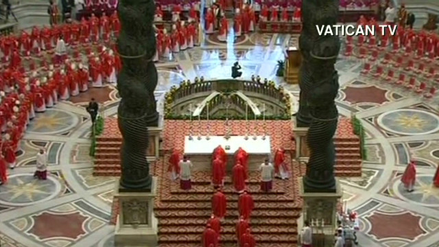Anticipation and ancient conclave rituals