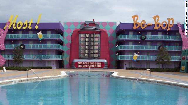 Disney's Pop Century resort opened in late 2003.