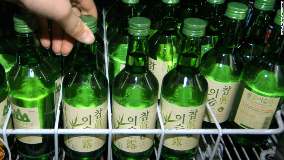 Alcohol dissolves South Korea's strict social protocols nearly as easily as it dissolves brain cells.