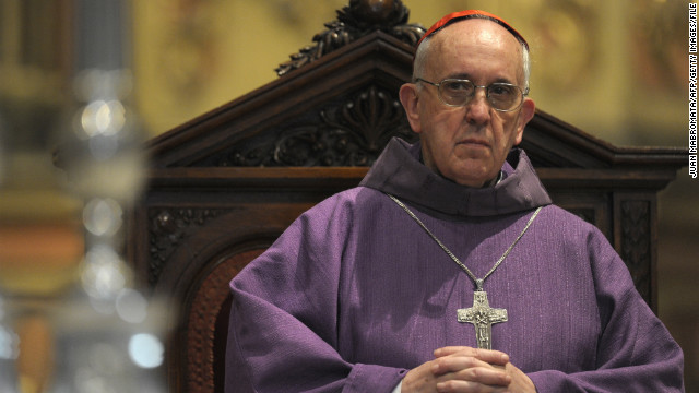 Priests hope to clear Pope Francis' name