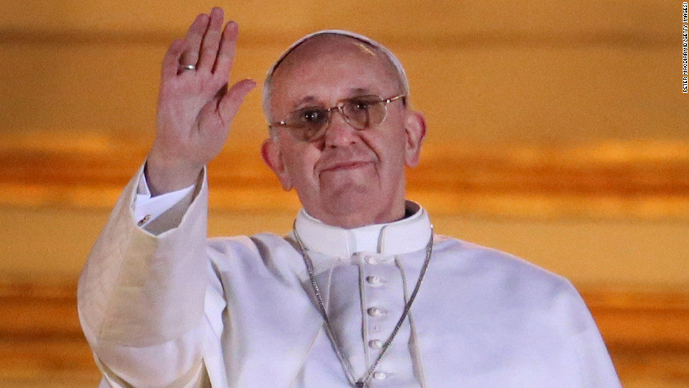 He's no longer Jorge Bergoglio, but Pope Francis. To be frank, the name has a long and storied history, putting the new pope in good company.