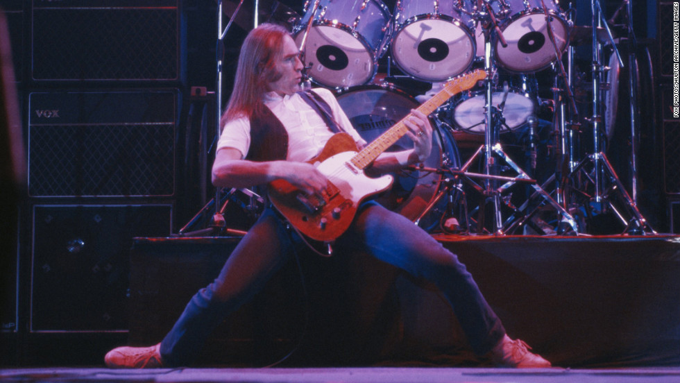 "Francis Rossi -- The British singer of Status Quo only had one hit in America -- ""Pictures of Matchstick Men"" -- but the group has had a long and successful career in Britain."