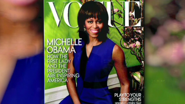 2013: Michelle Obama in 'Vogue' again