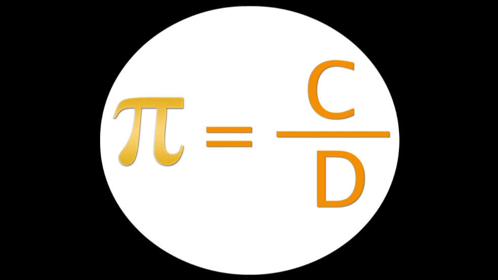Pi is the ratio of circumference to diameter of a circle. You may have learned this in geometry class. It is approximately equal to 3.14.