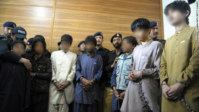 Pakistani police: Kids used as bombers