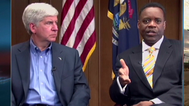 Governor picks attorney to lead Detroit