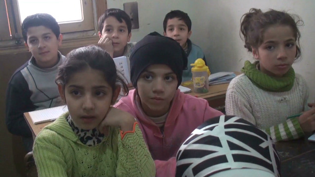 Losing a generation of Syrian children