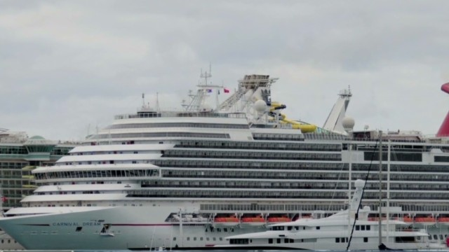 Carnival Dream cruise ends in ordeal
