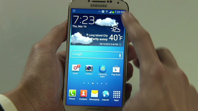 Samsung unveils Galaxy S4 smartphone