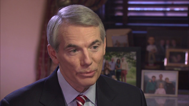GOP Sen. Portman supporting gay marriage