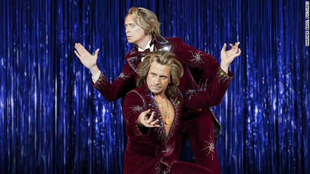 "Steve Buscemi stars as Anton Marvelton and Steve Carell stars as Burt Wonderstone in ""The Incredible Burt Wonderstone."""