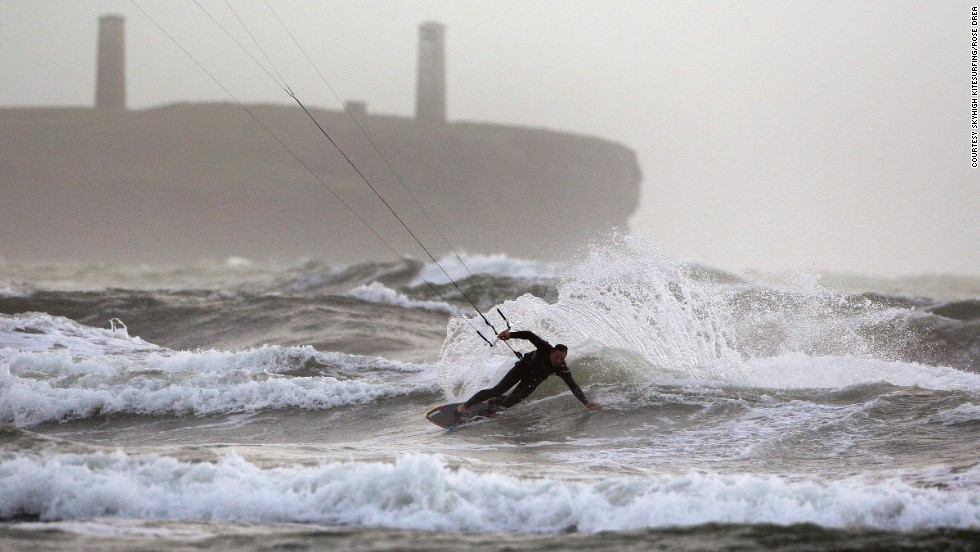 Test your athleticism with kitesurfing in the seaside town of Tramore in County Waterford.