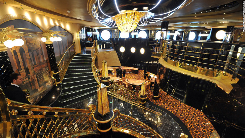 The luxury cruise ship is now on its pre-inaugural 9-day/8-night cruise from Saint Nazaireto, which will end in Genoa, Italy on Friday, March 22. There the christening ceremony will take place before it departs on March 24 on its first official cruise.