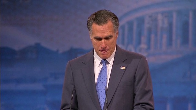 Romney: Of course I left disappointed