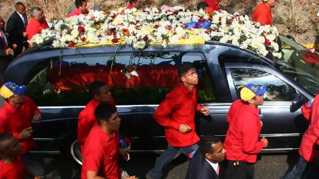 Adiós a Hugo Chávez