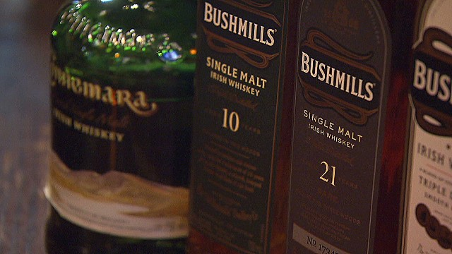 Forget beer: Irish whiskey sales booming