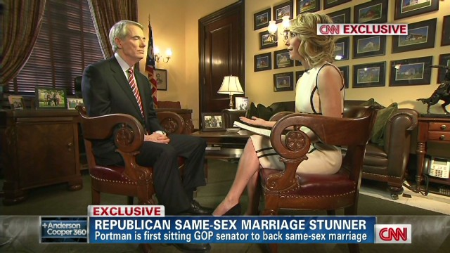 Santorum on Portman's gay marriage support