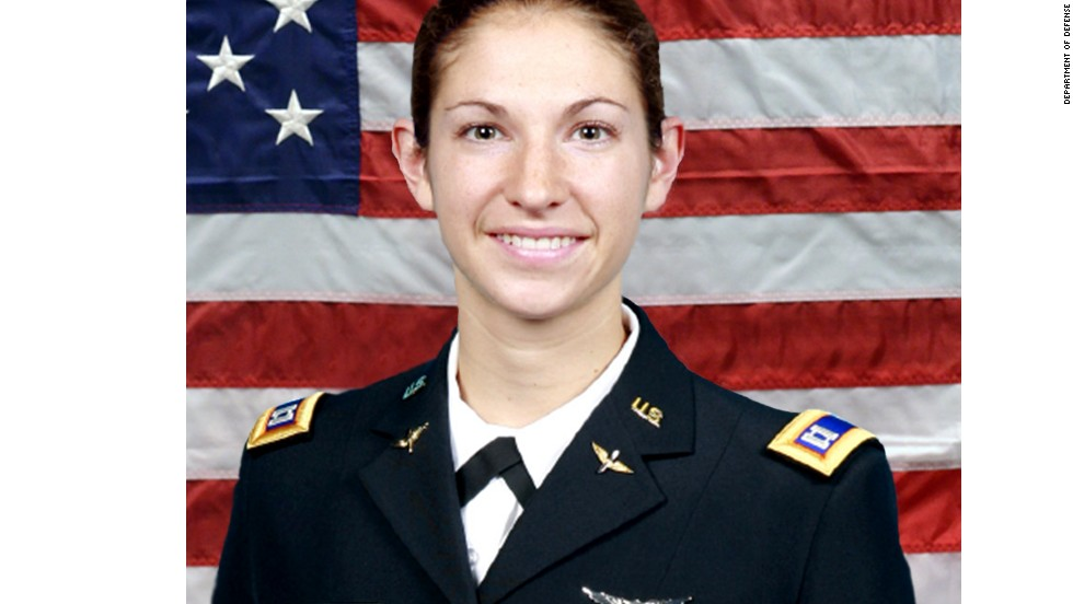 Capt. Sara M. Knutson, 27, of Eldersburg, Maryland.