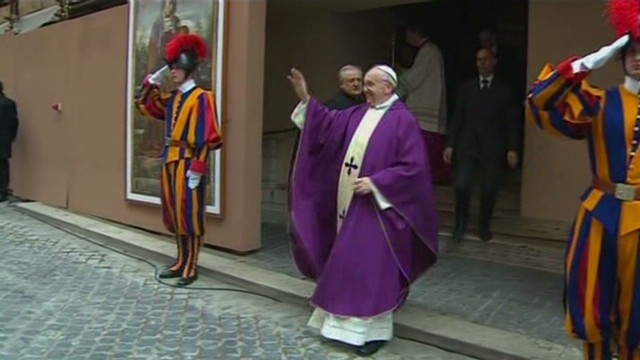 First Sunday Mass for new pope