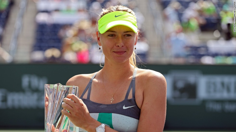 "Sharapova has now won at least one title in each of the past 11 years.  ""This is what I do all the work for is these moments,"" she told reporters. ""You feel like everything has paid off."""