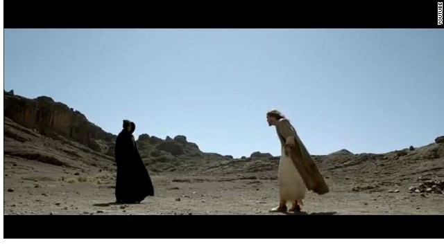 """A scene from The History Channel's successful miniseries """"The Bible."""""""