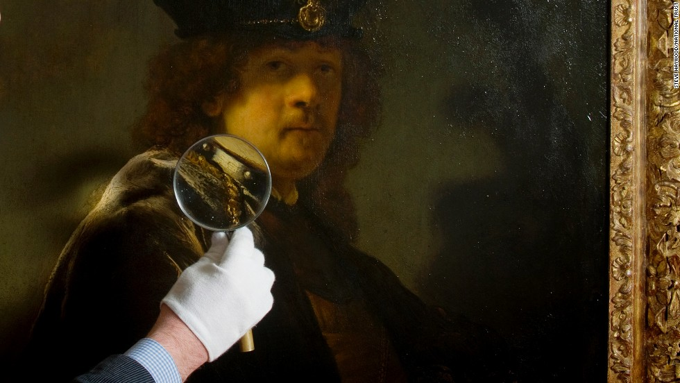 The picture was originally believed to have been painted by a pupil or follower of Rembrandt, but X-rays and analysis of the techniques used show it to be by the master himself.
