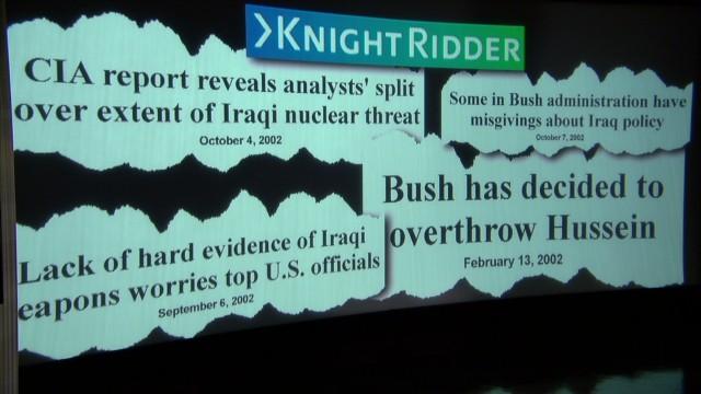 Iraq: Where were the journalists?