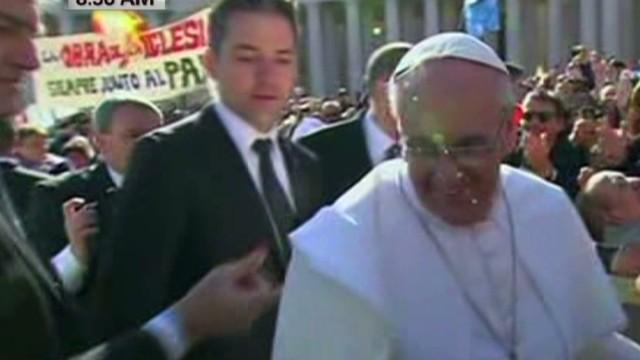 Protecting the pontiff