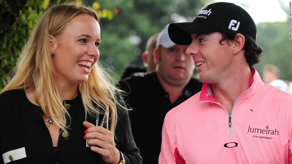 "Both tennis player Caroline Wozniacki and golfer Rory McIlroy have been the top-ranked in their respective sports. <a href=""http://edition.cnn.com/2013/01/14/sport/golf/golf-woods-mcilroy-nike"">McIlroy</a>, seen as the apparent heir to Tiger Woods, has two major championships to his name and a $200 million sponsorship deal with Nike."