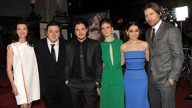 Game of Thrones cast at season 3 red carpet premiere
