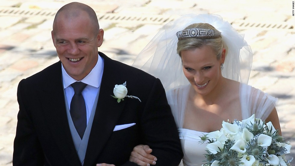 The news of the romance between England's rugby World Cup winner Mike Tindall and Zara Philips, the Queen's granddaughter, came as a surprise to many - but they happily tied the knot in 2011. One year later, Philips won an Olympic silver in the equestrian team event.