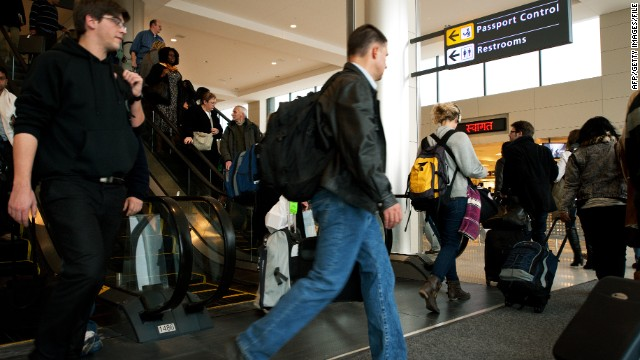 Travelers avoid the U.S. over customs