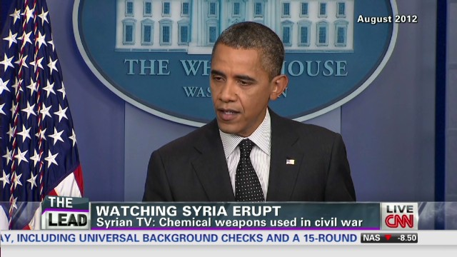 Syria chemical weapons a 'game-changer'