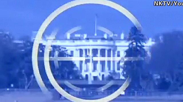 North Korean video targets White House